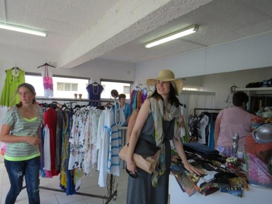 Shopping in the metropolis of Struisbaai!